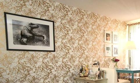 AphroChic: A HuffPost Home Editor's Stylish Metallic Abode
