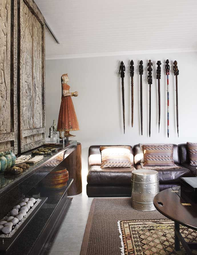 AphroChic: A Johannesburg Home Filled With Objet d'art
