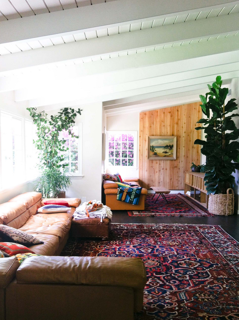 AphroChic: Rich Color And Pattern In A Santa Monica Home
