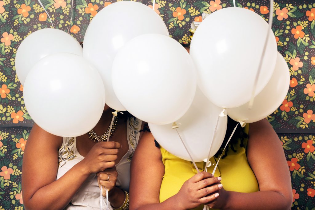 AphroChic: Designer Sisters Throw A Colorful New Year's Eve Bash. Photographed by Leon S. Belt.