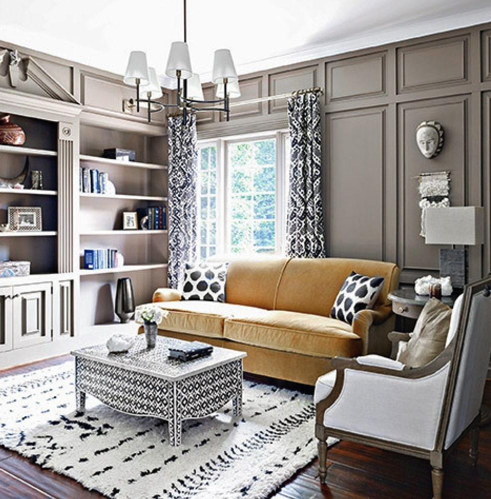 Nate Berkus Presents A Rich Color Palette Of Blue Gold And Coral In The Home Iyanla Vanzant