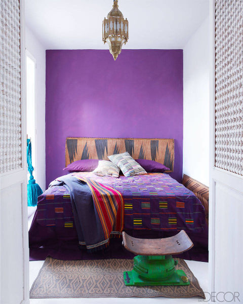 Ethiopian Crosses In Feb Mar Elle Decor: Bright And Bold On The Adriatic Coast - AphroChic